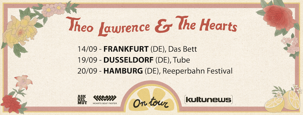 Theo Lawrence Tour 2018