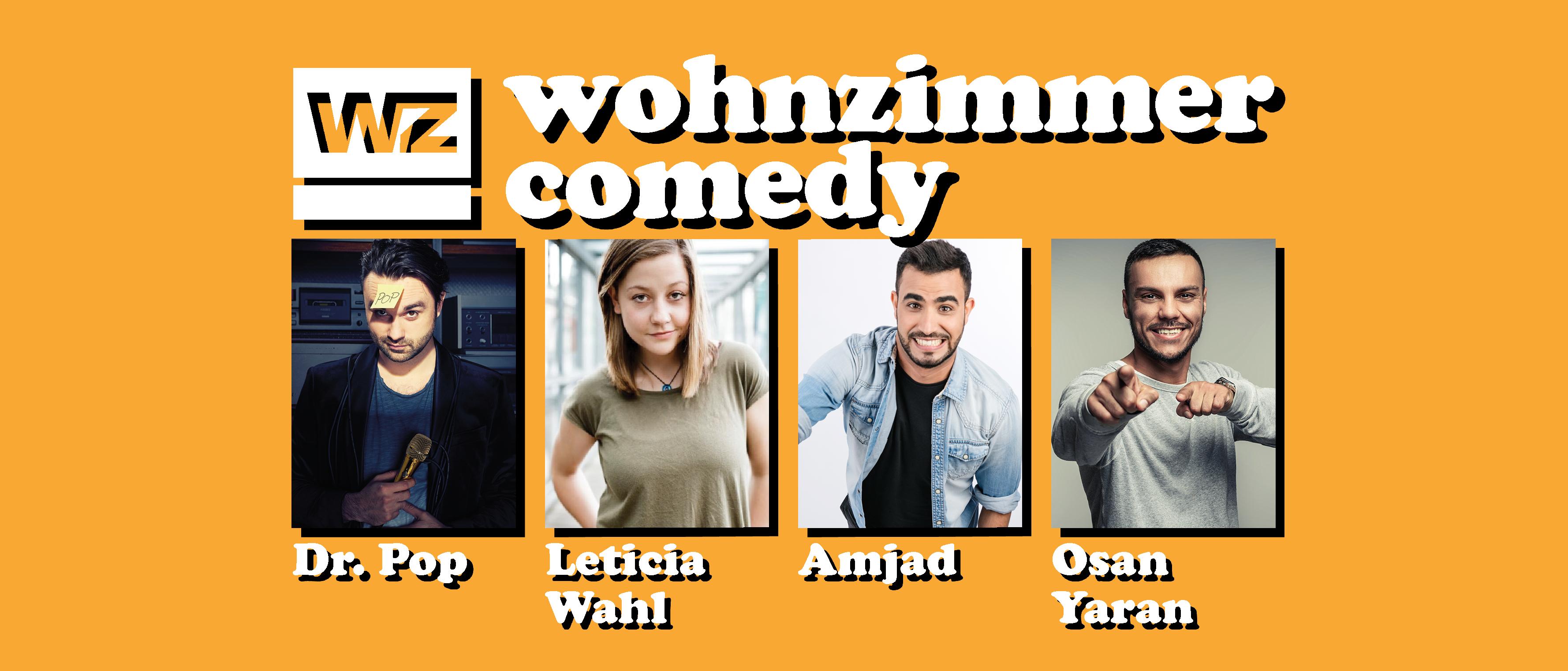 """""""Wohnzimmer Comedy"""" – 2020"""